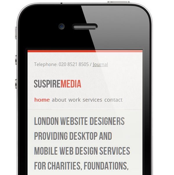 Mobile Typography Design: Sizable Examples and Aspects