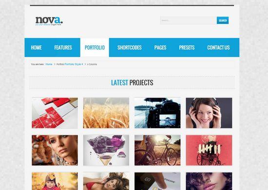 20 Free And Premium Portfolio Joomla Gallery Templates Ginva