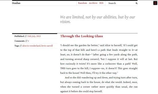 Tumblr Templates Free HTML