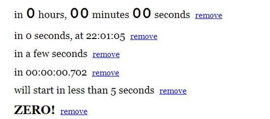 17 Powerful jQuery Timer Plugins | Ginva