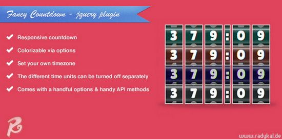 Fancy Countdown - jQuery plugin