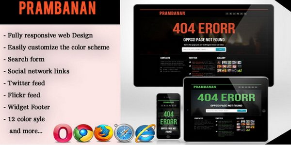 404 not found html template - 20 creative html css 404 templates ginva