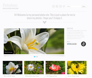 Foto Free WordPress Portfolio Theme