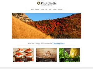 Photolistic Free WordPress Portfolio Theme