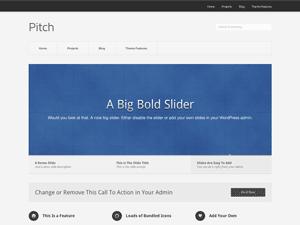 Pitch Free WordPress Portfolio Theme