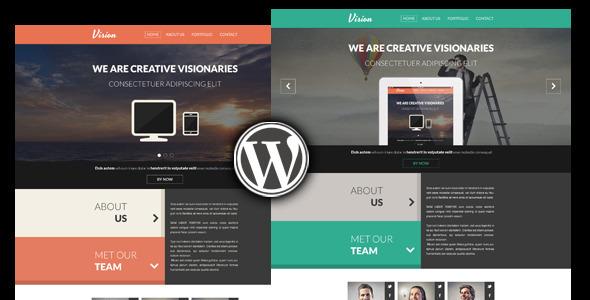 Vision Creative  Portfolio WordPress Theme