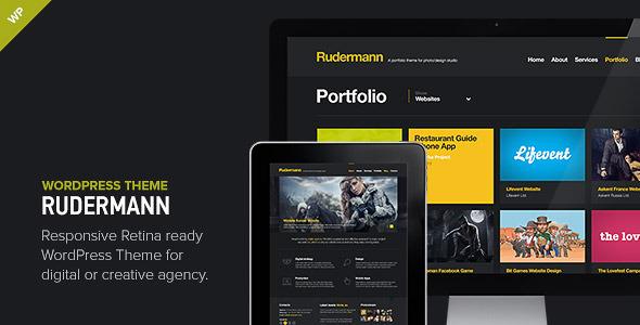 Rudermann Portfolio WordPress Theme