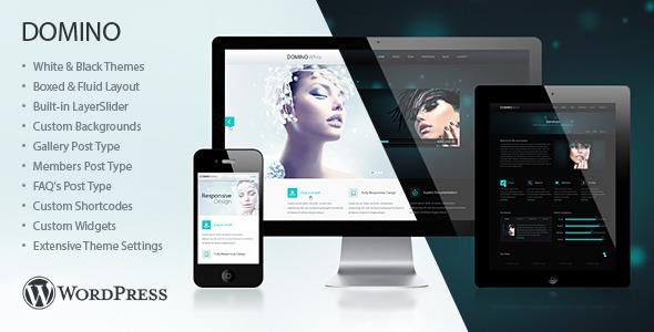 Domino  Portfolio WordPress Theme