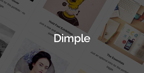 Dimple Creative Agency Portfolio WordPress Theme