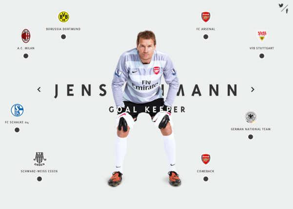 Official Website of Jens Lehmann Sport Web Design