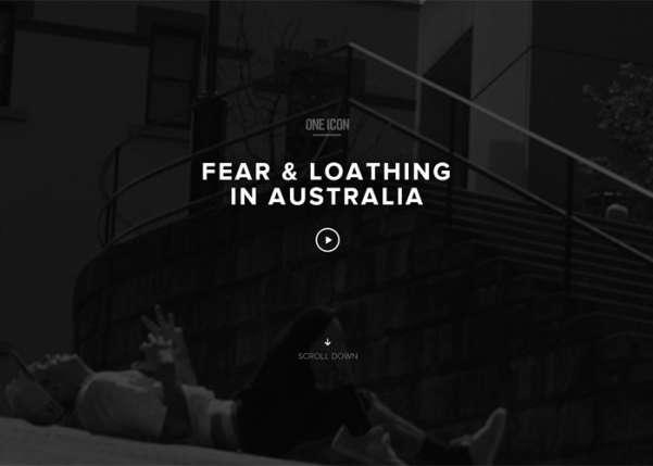 Fear and Loathing in Australia Sport Web Design