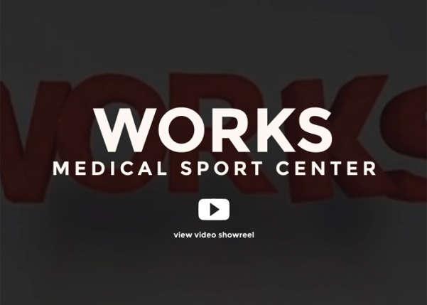 WORKS Medical Sport Center Sport Web Design