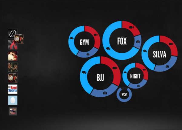 UFC Social Sport Web Design
