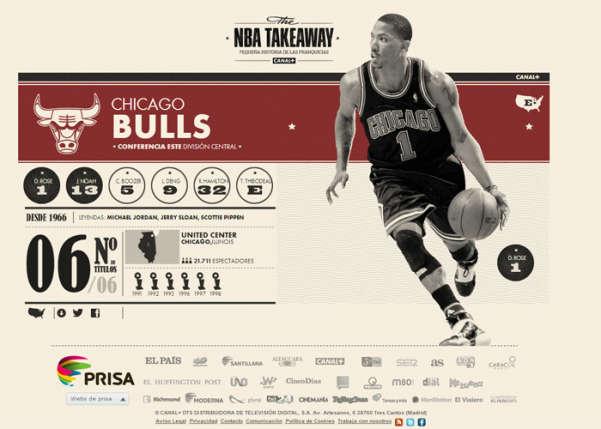 NBA Takeaway Sport Web Design