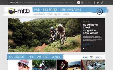 I-MTB Sport Web Design