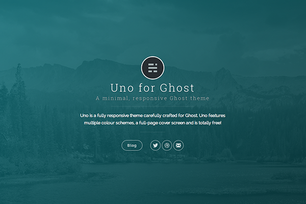 uno free ghost theme