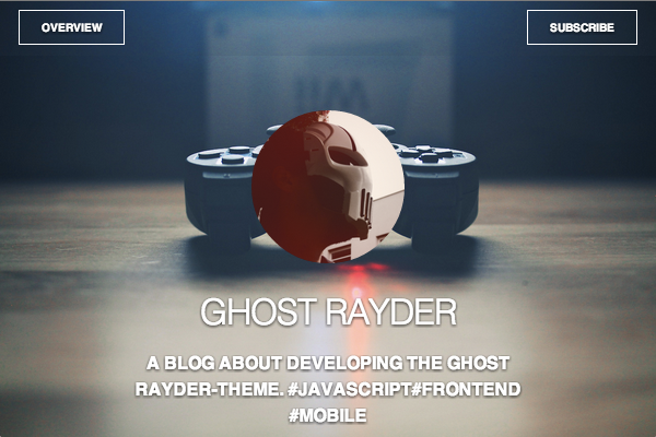 ghost free ghost theme