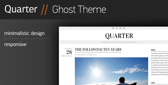 Quarter Ghost Theme