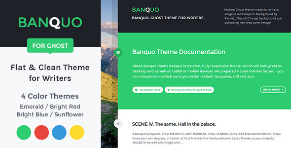 Banquo Ghost Theme