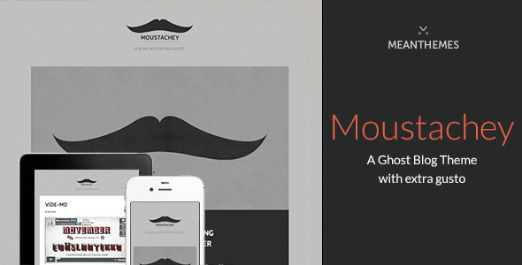 Moustachey Ghost Theme