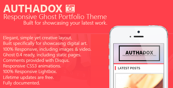 Authadox Ghost Template