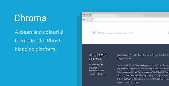 Chroma Ghost Theme