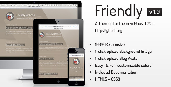 Friendly Ghost Theme