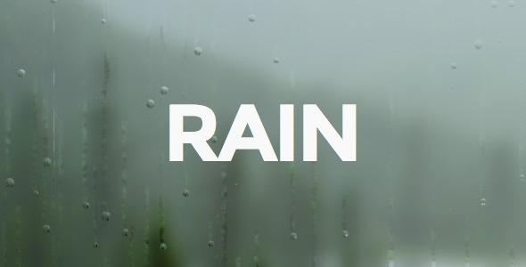 RAIN Ghost Theme