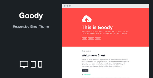 Goody Ghost Theme
