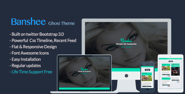 Banshee Ghost Theme