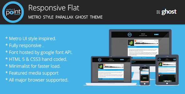 Responsive Ghost Layout