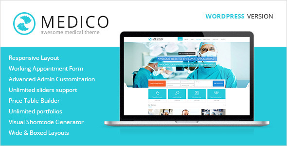 Medico Health WordPress Theme