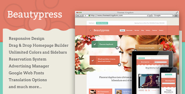 Beautypress Health WordPress Theme