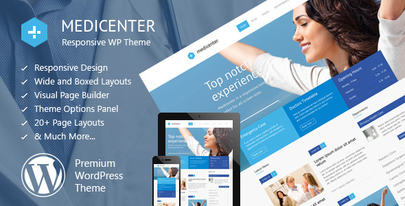 Medicenter Health WordPress Theme
