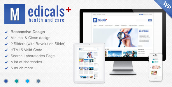 Medicals Health WordPress Theme