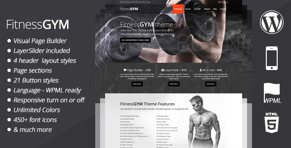 Fitnessgym Sportfitness