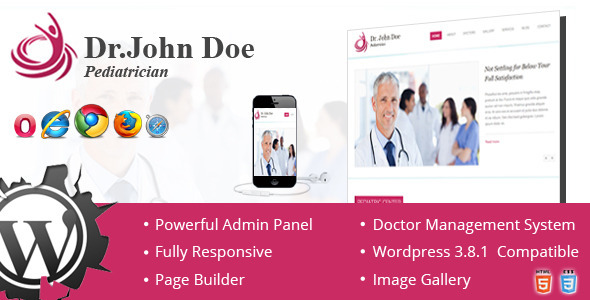 Dr. Doe Onepage