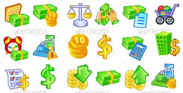 money accounting 1 icons
