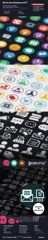80 online icons