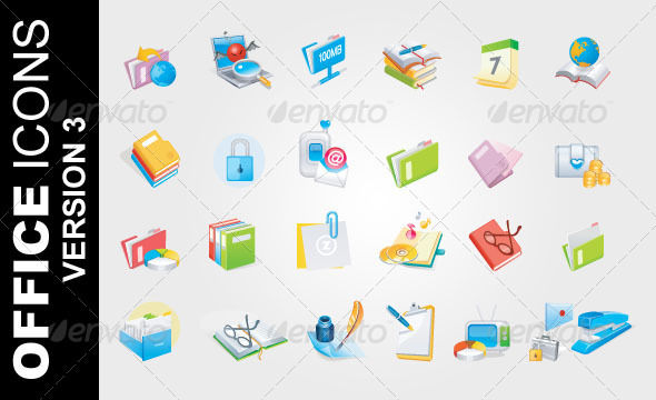 office ver. 3 icons