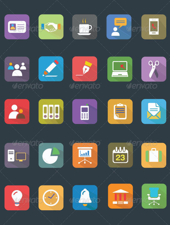 25 fice vector icons