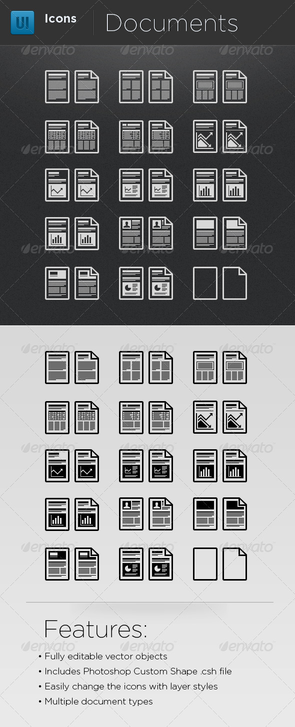infographic elements business icons
