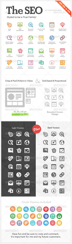seo web icons