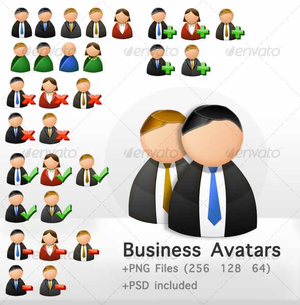 avatars icons