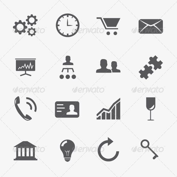 strategy vector icons