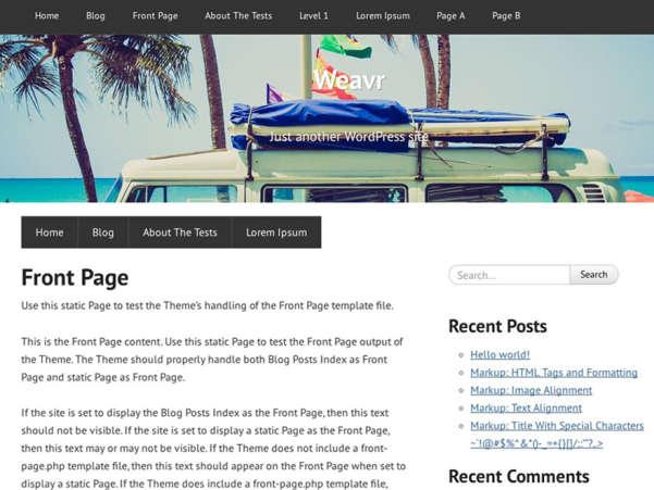 free weavr ecommerce wordpress theme