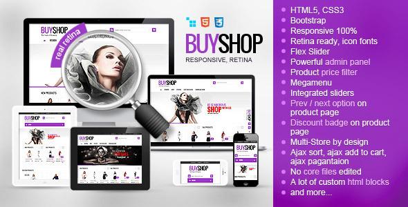 Buyshop Responsive Retina Ready Cscart Theme