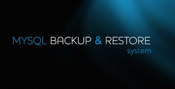 MySQL Backup&Restore System