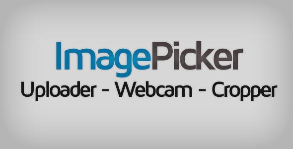 ImagePicker: Uploader Webcam Cropper