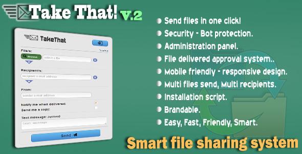 TakeThat! file sharing system V 2 1